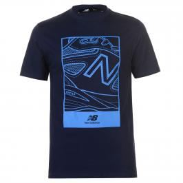 New Balance Shoe Logo T Shirt Mens