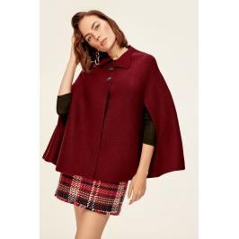 Trendyol Burgundy Buttoned Sweater Cardigan
