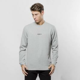 Recenzja Obey bluza sweatshirt Corsaire Crew heather grey - heather grey Bluzy męskie