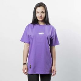 Koszulka damska Mass Denim Classics SL Print T-shirt WMNS purple LIMITED EDITION - purple