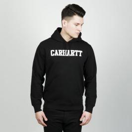 Bluza Carhartt WIP Hooded College Sweat black / white SS19