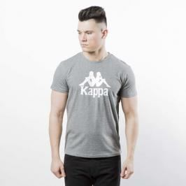 Koszulka Kappa Authentic Estessi grey mid melange / white 303LRZ0-950 - grey mid melange / white