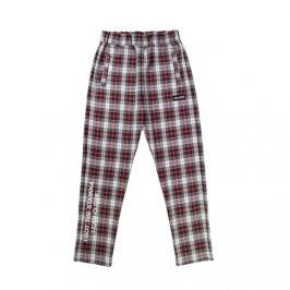 Majors spodnie dresowe Grid Pants multicolor